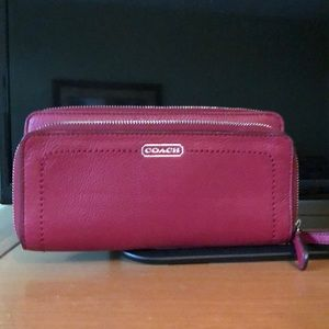 Handbags - Coach wristlet authentic
